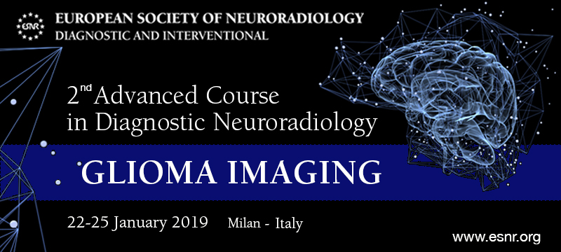 04/08/2018 : 2nd edition of the Advanced Course in Diagnostic Neuoradiology on Glioma Imaging is now open!