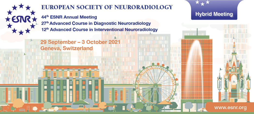 06/09/2021 : 44th ESNR Annual Meeting has been accredited with 24 CME credits