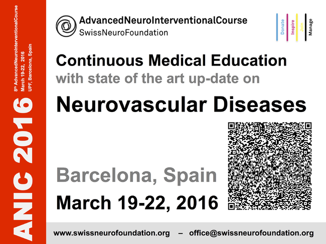 Advanced Course of HQ in Endovascular Interventional Neuroradiology, 6th Cycle, Module 2