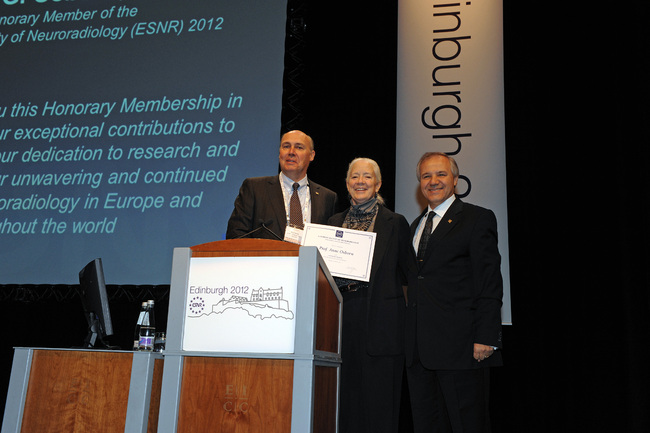 21/09/2012 : Anne Osborn awarded Honorary Member at ESNR Annual Meeting in Edinburgh.