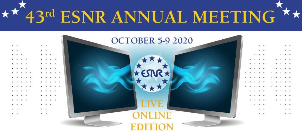 28/09/2020 : ESNR 2020 Annual Meeting has been accredited with 15 European CME credits