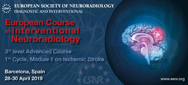 European Course in Interventional Neuroradiology, 1st Cycle Module 1
