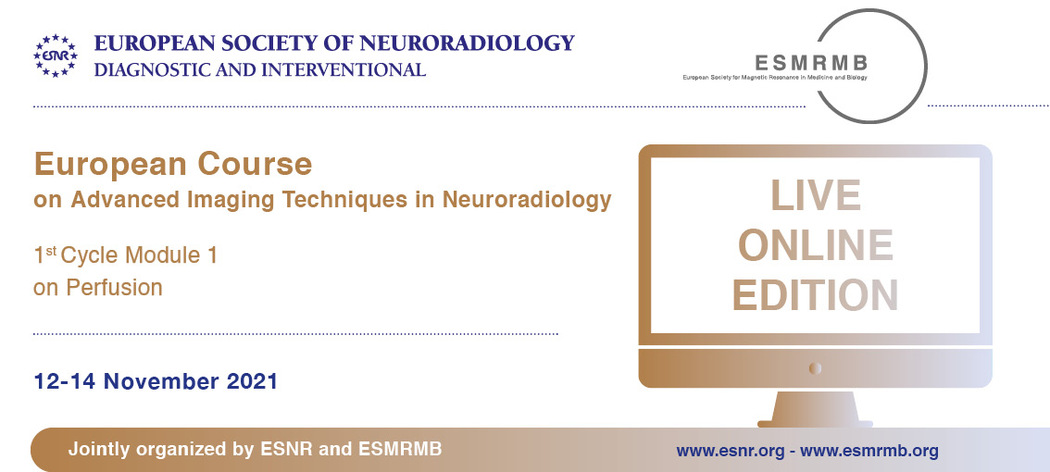 05/10/2021 : European Course on Advanced Imaging Techniques 1st Cycle Module 1 has been accredited with 21 CME credits