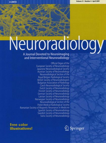15/06/2009 : Full electronic access to Neuroradiology