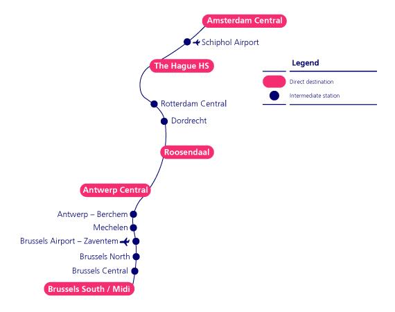 How to reach Antwerp