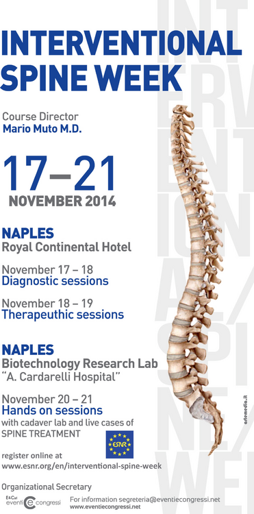 ACHQ - 5th Advanced Course on Spinal Interventional Neuroradiology