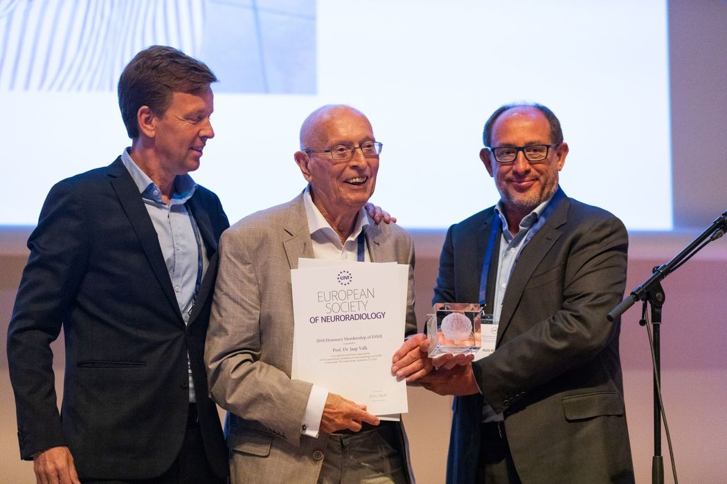 15/11/2018 : Prof. Jaap Valk and Prof. Augusto Goulao awarded Honorary Membership of ESNR