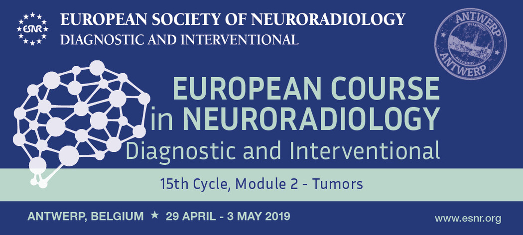 16/11/2018 : Registration for the ECNR 15th Cycle Module 2 on Tumors is now open!
