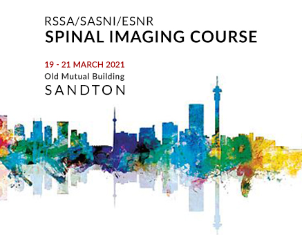 14/08/2020 : RSSA | SASNI | ESNR Spinal Imaging Course