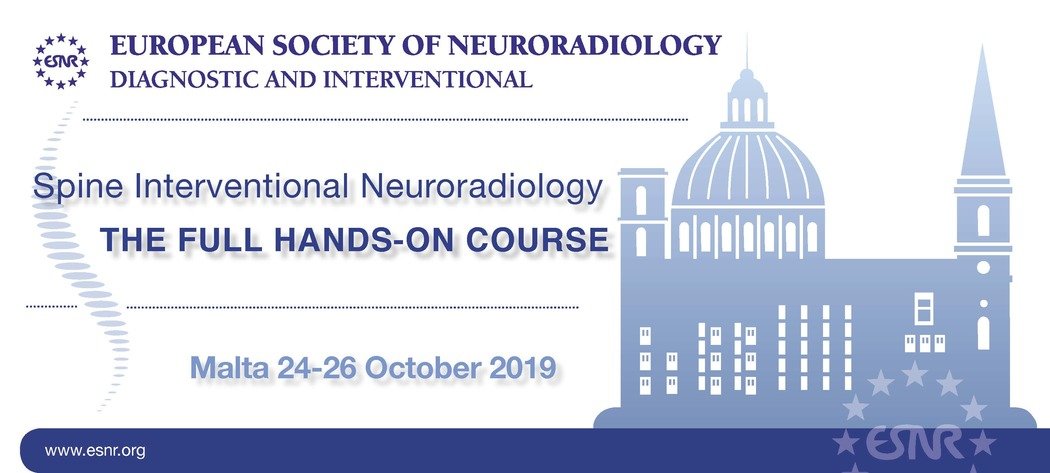 14/02/2019 : Spine Interventional new Full Hands - On Course coming in October 2019